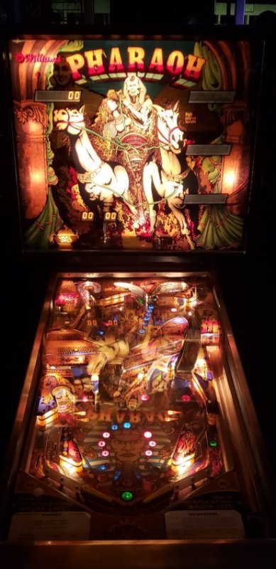Restored Pharaoh Pinball Machine