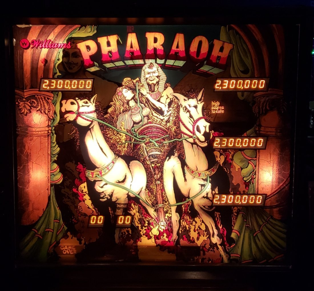 Restored Pharaoh Pinball Machine - 2