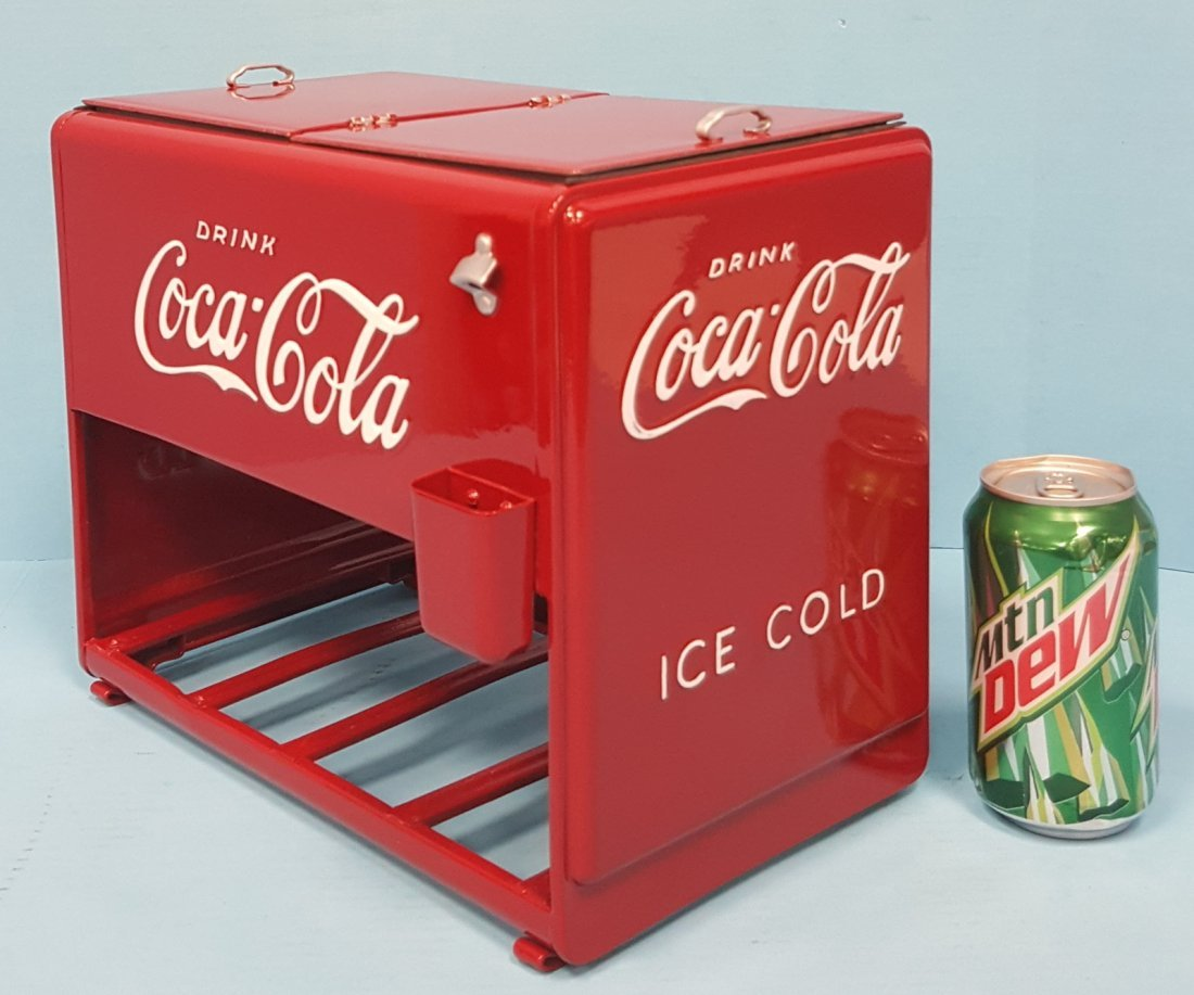 1939 Coca Cola Salesman Sample Cooler