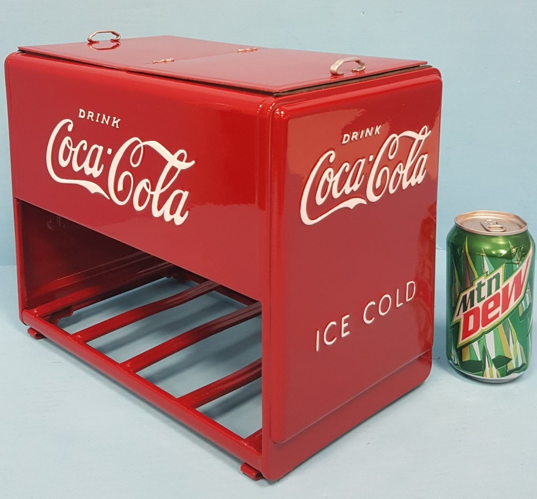 1939 Coca Cola Salesman Sample Cooler - 2