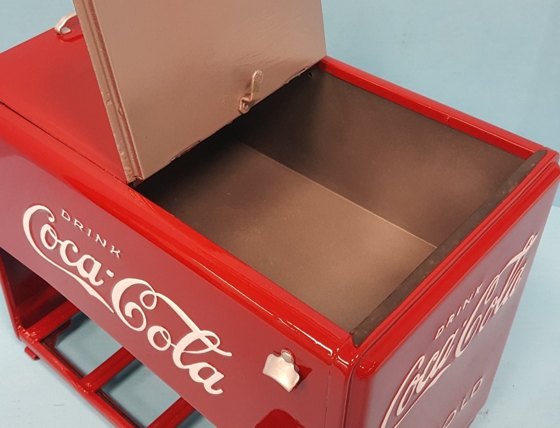 1939 Coca Cola Salesman Sample Cooler - 3