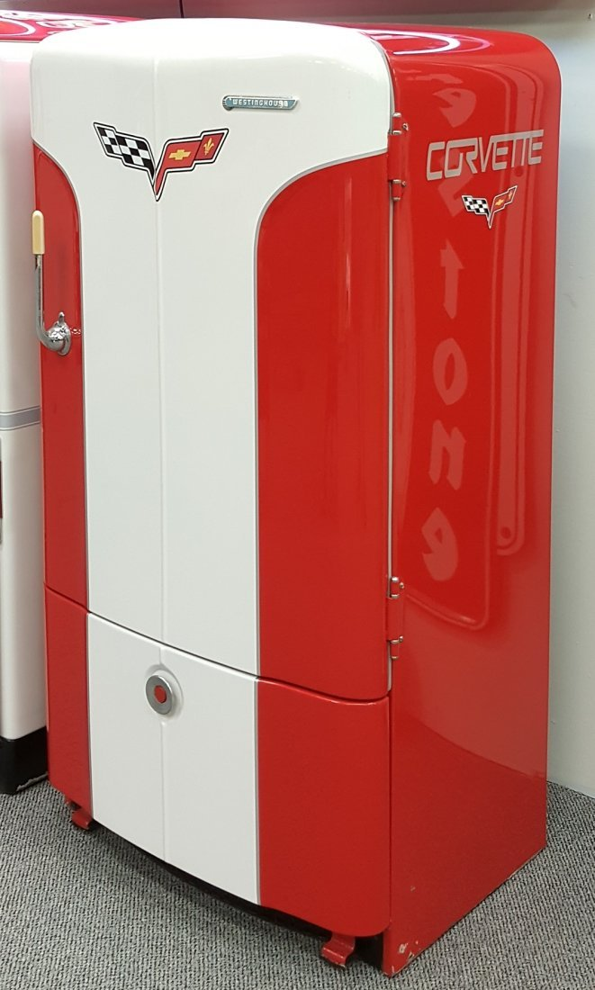 Restored Westinghouse Corvette Refrigerator