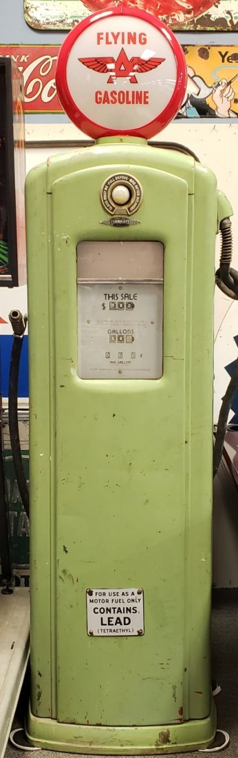Flying A Bennett 646 Gas Pump