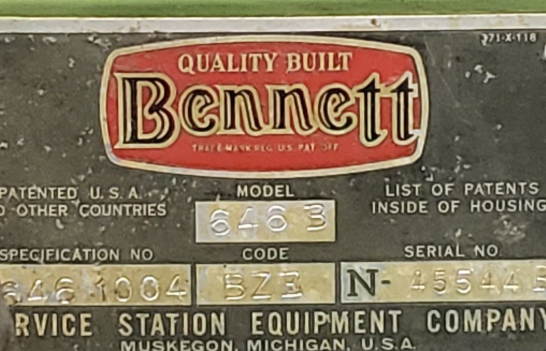 Flying A Bennett 646 Gas Pump - 2