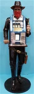 Frank Polk Style Mills Cowboy Figure Slot Machine