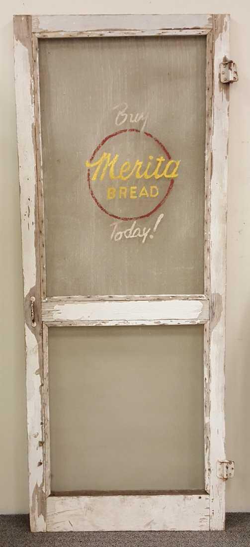 Country Store Merita Bread Screen Door