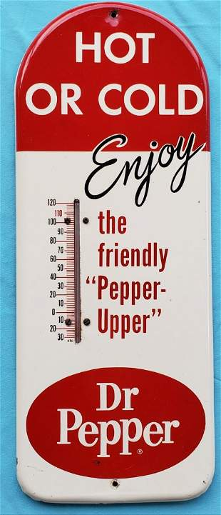 Dr Pepper Thermometer Hot or Cold Enjoy