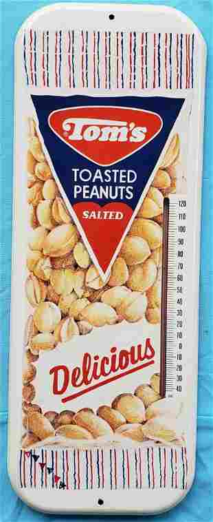 Tom's Toasted Peanuts Thermometer Delicious