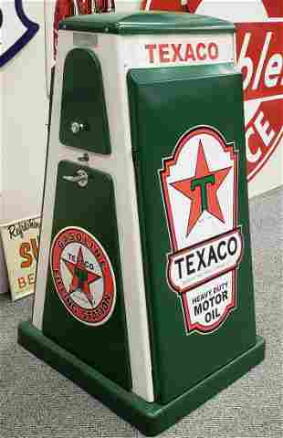 Texaco SELOIL Oil Display Service Cabinet