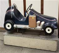 1950's Coin Operated Race Car Kiddie Ride