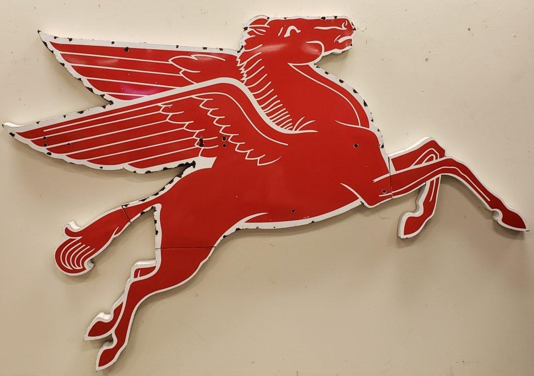 Porcelain 9 ft Pegasus Right Facing