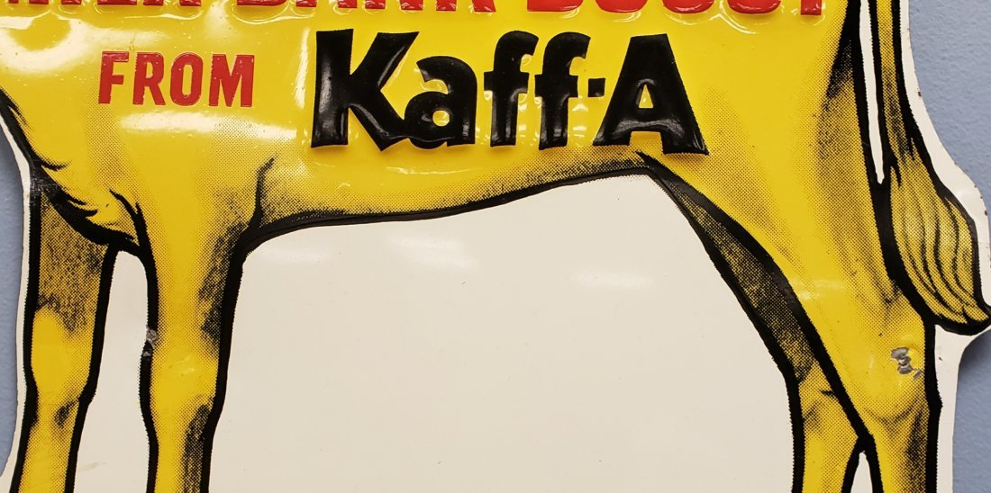 Kraft Milk Bank Boost from Kaff-A Tin Sign - 2