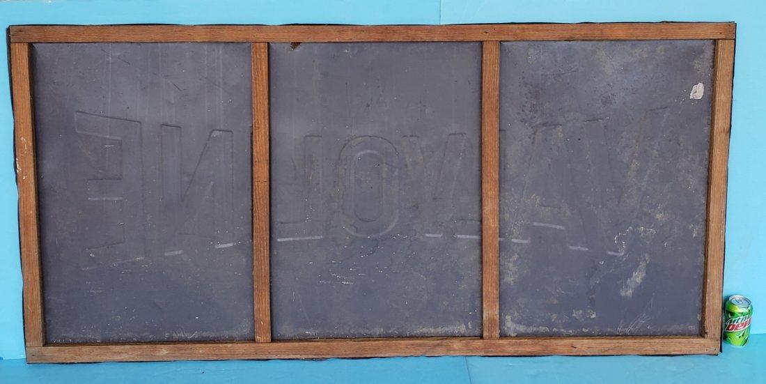 Valvoline Motor Oil Tin Sign - 2