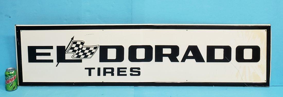 El Dorado Tires Tin Sign