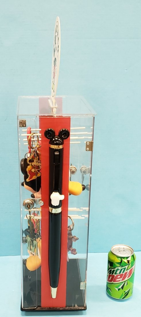 Mickey Mouse & Co. Keychain Display w/ Contents - 3