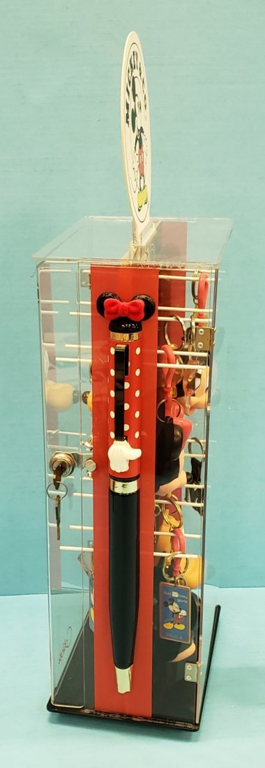Mickey Mouse & Co. Keychain Display w/ Contents - 4