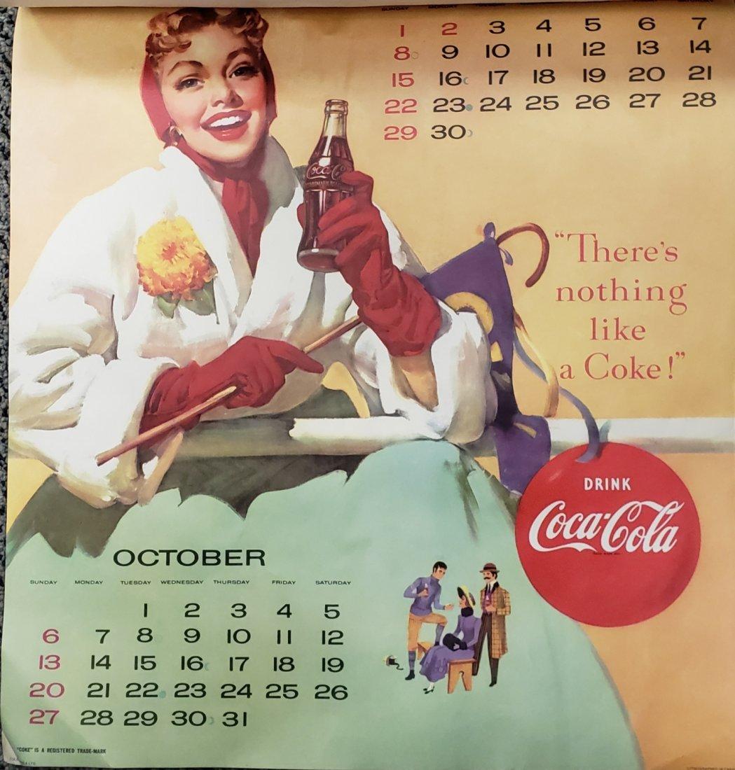 1957 Coca Cola Calendar - 5