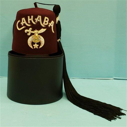 Shriner Fez / Hat with Case