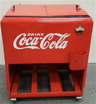 Embossed Coca Cola Cooler
