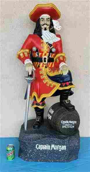 4ft Captain Morgan Store Display Statue