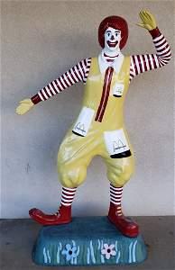 Ronald McDonald Lifesize Statue
