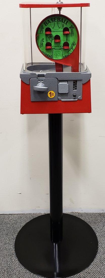 Restored Baseball Gumball Machine - 2