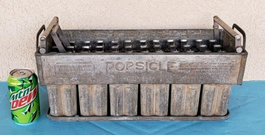 Scarce Vintage Popsicle Maker Mold