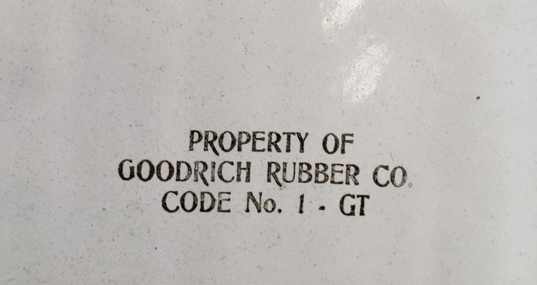 Porcelain Goodrich Tires Sign - 2