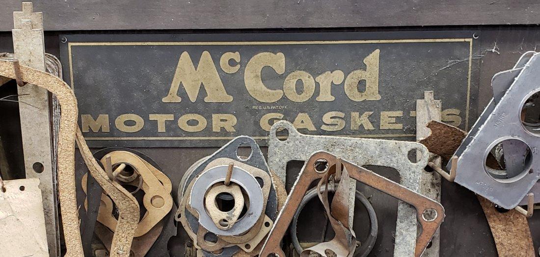 1920's McCord Motor Gasket Service Station Display - 2