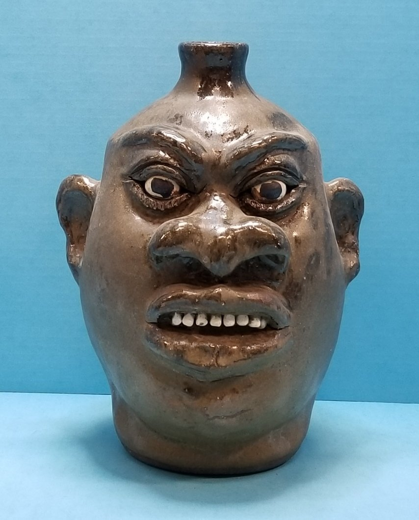 Lanier Meaders Rock Tooth Face Jug