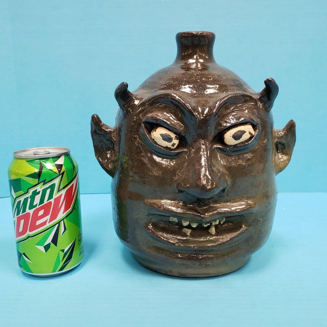 Lanier Meaders Rock Tooth Devil Face Jug