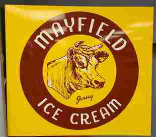 Mayfield Dairy Flange Sign