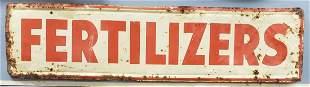 Fertilizers Tin Sign