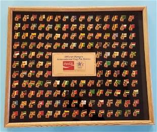 1984 Coca Cola Olympic International Flag Pin Series