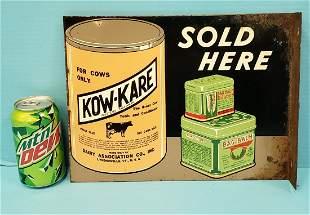 Kow-Kare flange sign