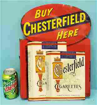 Chesterfield flange sign