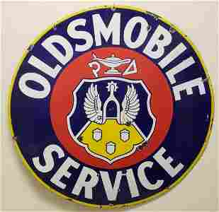 Porcelain Oldmobile Sign