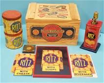 National Biscuit Company Nabisco Ritz Crackers Lot