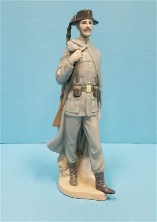 Lladro figurine soldier / policeman