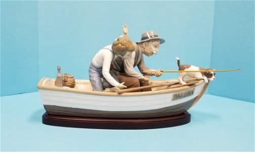 Lladro #5215 Paloma boat