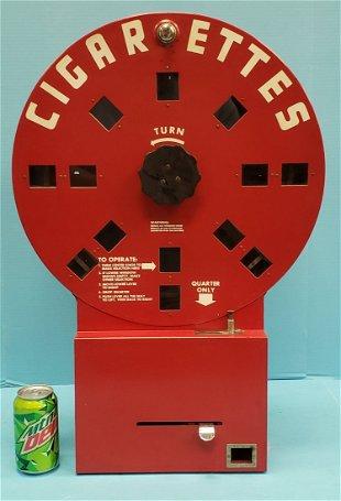 1 Cent Brouse's Peerless 4-Column Vending Machine c1890 - Jan 19