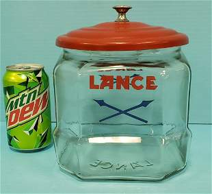 "8"" Lance Jar with Lid"
