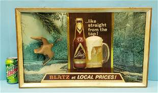 Blatz at local prices 3D Sign