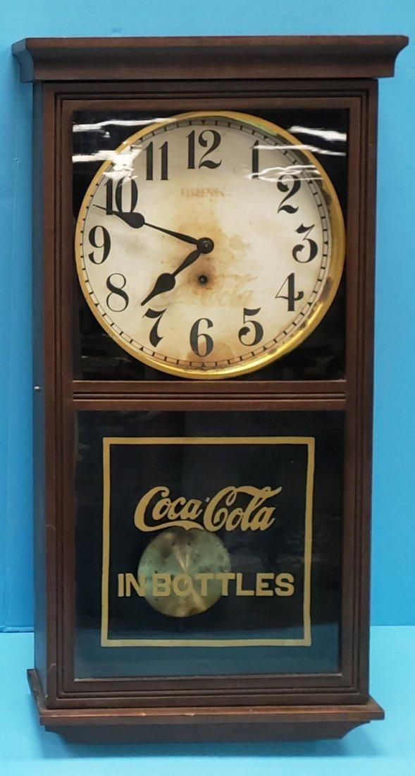 1920's -30's Coca Cola Regulator Gilbert Clock