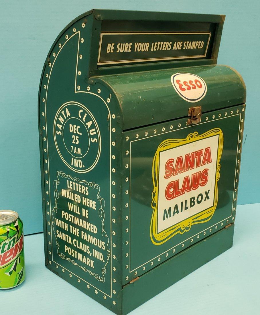 ESSO Service Station Santa Claus Letter Mailbox
