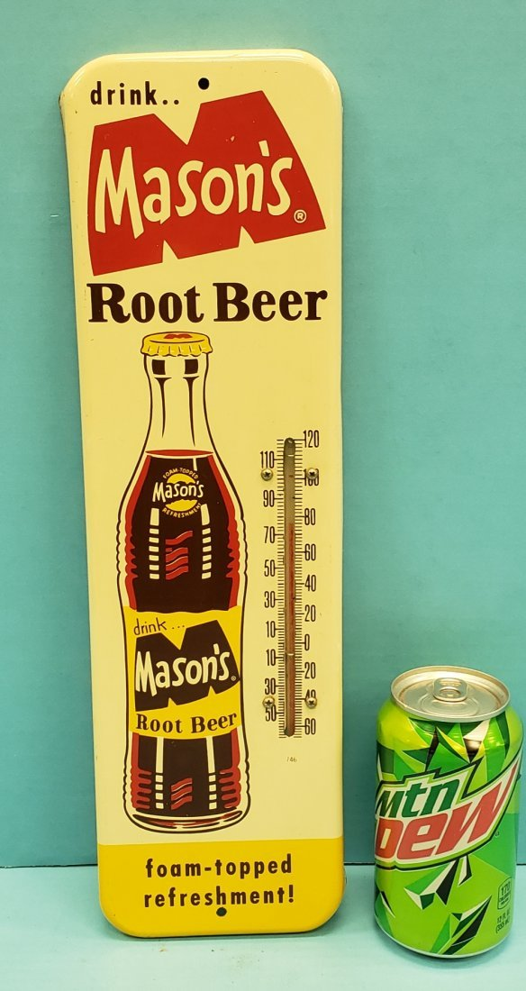 Mason's Root Beer Thermometer