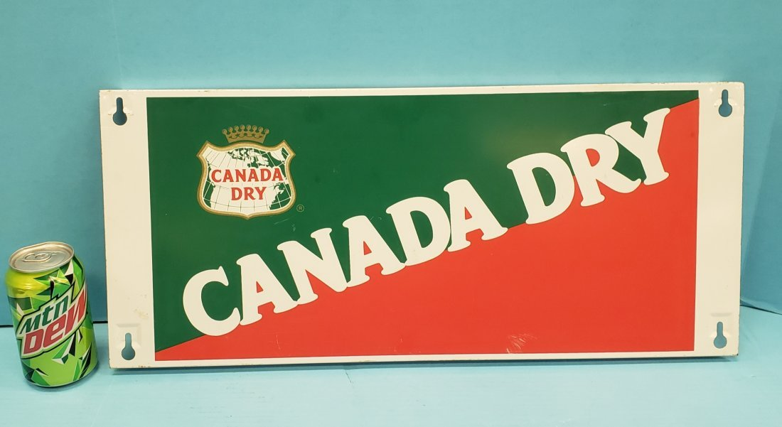 Canada Dry Rack Topper Sign
