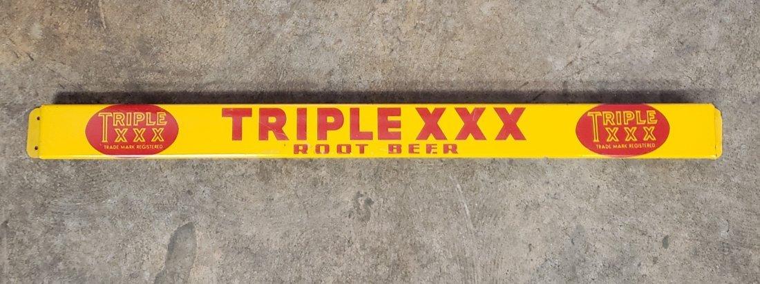 Triple XXX Root Beer Door Push