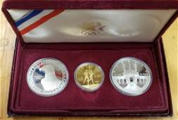 1984 Los Angeles Silver and Gold Proof Set