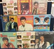 9 Elvis Record Albums with Bonus Photos